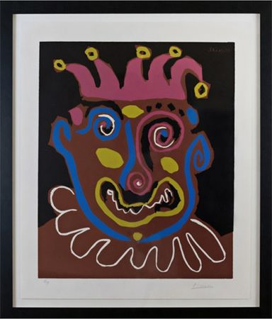 Линогравюра Picasso - Le Vieux Roi (B. 1152)