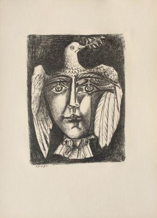 Литография Picasso - Le Visage de la Paix (B. 687)