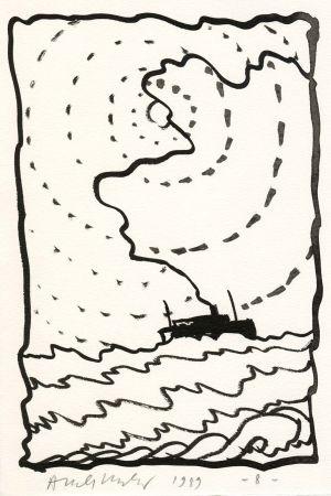 Иллюстрированная Книга Alechinsky - Le Volturno