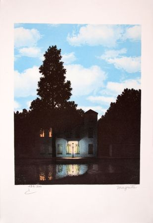 Литография Magritte - L'Empire des Lumières - The Empire of Light