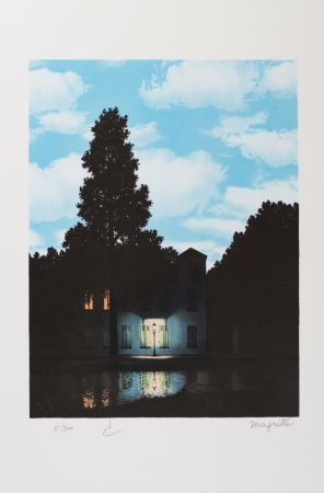 Литография Magritte - L'Empire Des Lumières (The Empire Of Light)