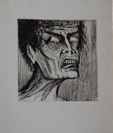 Литография Buffet - L'enfer de Dante / Angélo