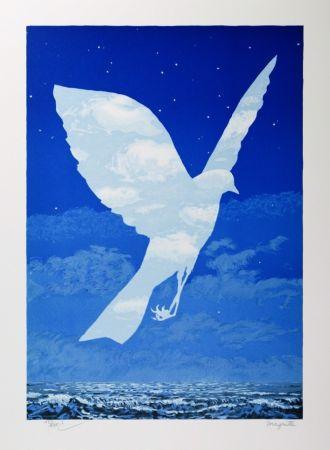 Литография Magritte - L'Entrée en scène