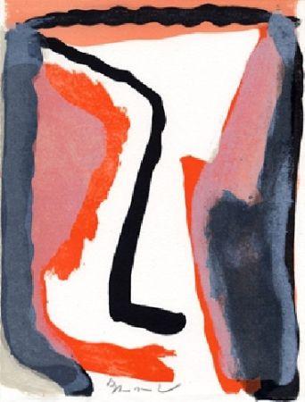 Иллюстрированная Книга Van Velde - L'envers, Jean Frémon