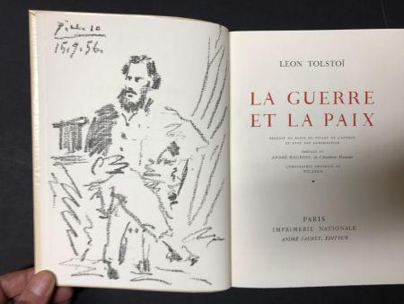 Литография Picasso - Leon Tolstoi