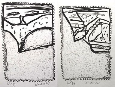 Иллюстрированная Книга Alechinsky - L'epreuve
