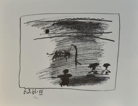 Литография Picasso - Les Banderilles