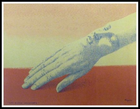 Литография Magritte - LES BIJOUX INDISCRETS
