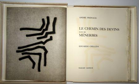Иллюстрированная Книга Chillida - Les Chemin Des Devins / Menerbés