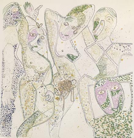 Многоэкземплярное Произведение Baj - Les Demoiselles D'Avignon