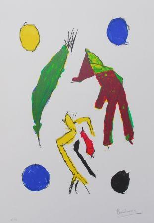 Литография Ionesco - Les esprits et leurs lunes