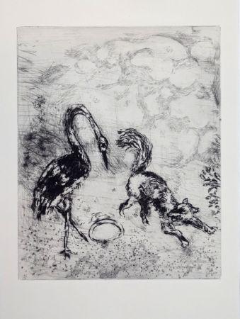Гравюра Chagall - Les Fables De La Fontaine