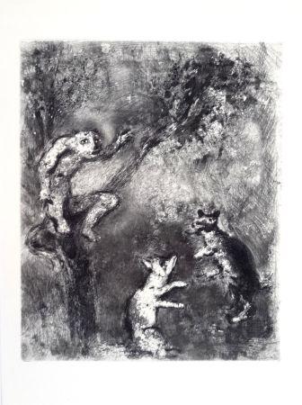 Офорт Chagall - Les Fables De La Fontaine