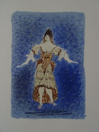Литография Braque - Les Facheux