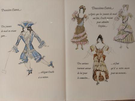 Иллюстрированная Книга Braque - Les Facheux