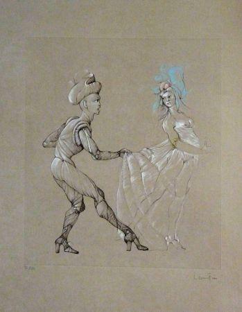 Литография Fini - Les Femmes