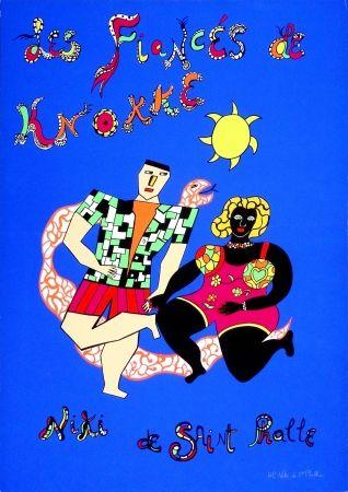Сериграфия De Saint Phalle - Les fiancés de Knokke