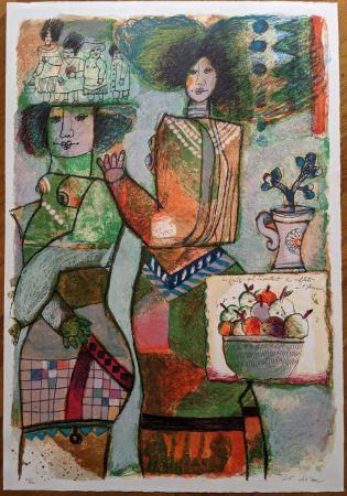 Литография Tobiasse - Les fruits
