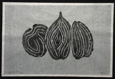 Офорт Ubac - Les Fruits I