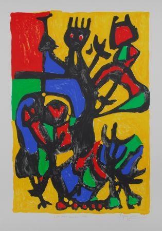 Литография Ionesco - Les hauts danseurs