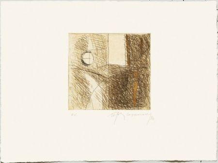Гравюра Ràfols Casamada - Les hores-5