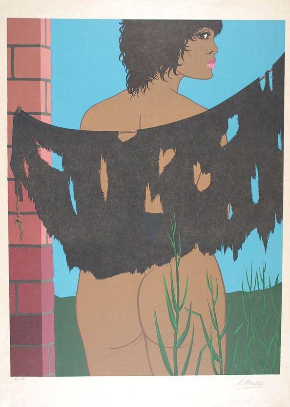 Литография Labisse - Les malheurs de la fille prodigue