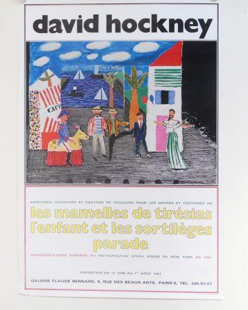 Гашение Hockney - Les Mamelles De Tiresias L'enfant Et Les Sortileges Parade