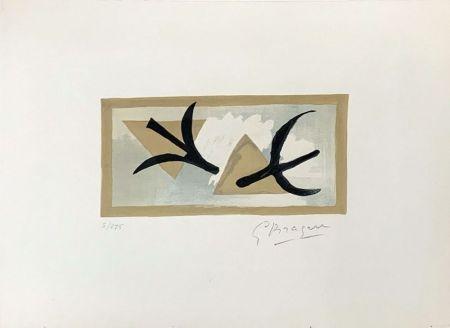 Литография Braque - Les Martinets