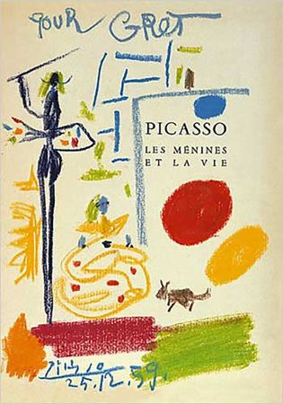 Литография Picasso - Les Menines Et La Vie