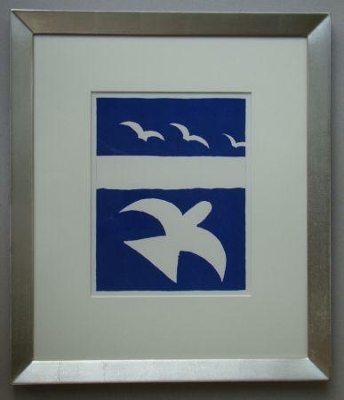 Литография Braque - Les Oiseaux