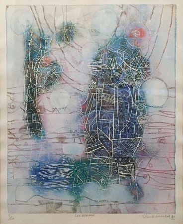 Литография Hasegawa - «Les Oiseaux»