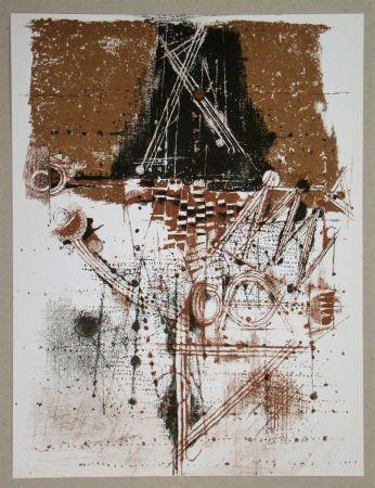 Литография Friedlaender - Les oiseaux