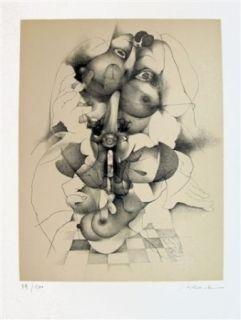 Литография Daboval - Les phantasmes de Berthe 3