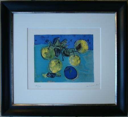 Литография Marchand - Les pommes