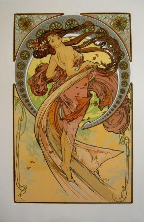 Литография Mucha - Les quatre saisons 4
