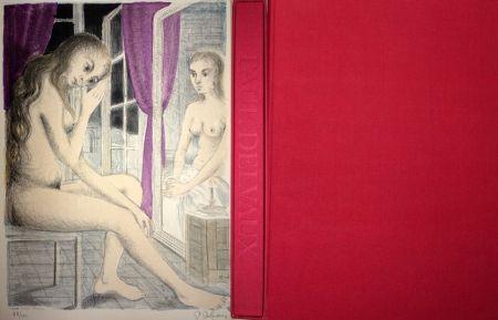Иллюстрированная Книга Delvaux - Les Rideaux Mauves (Les Dessins de Paul Delvaux)