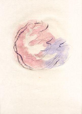 Офорт И Аквитанта Fautrier - Les seins et le sexe (Fautrier l'enragé)