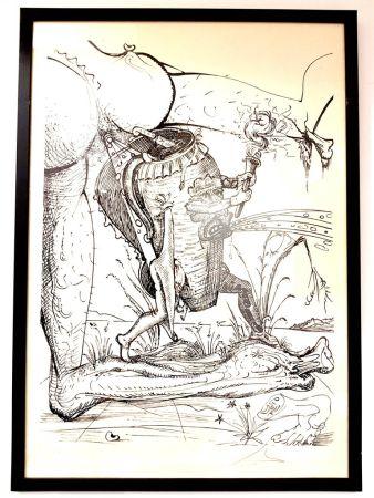 Литография Dali - Les Songes Drolatiques