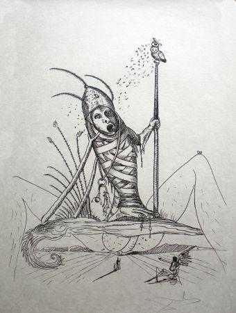 Литография Dali - Les Songes Drolatiques De Pantagruel 15