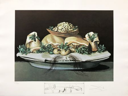 Литография Dali - LES SUPRENES DE MAILLAISE LILIPUTIENS