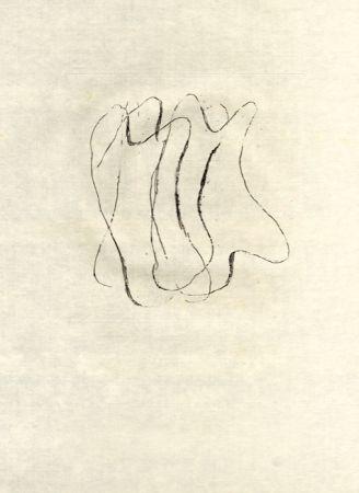 Офорт Fautrier - Les torses nus (fautrier l'enragé)