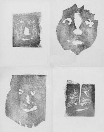 Гравюра Picasso - Les transparents