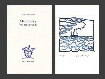 Иллюстрированная Книга Alechinsky - Les Traversées