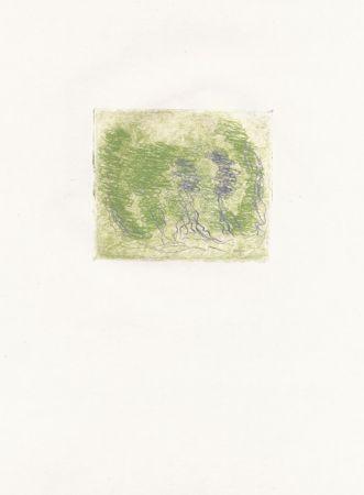 Офорт Fautrier - Les trois arbres (Fautrier l'enragé)