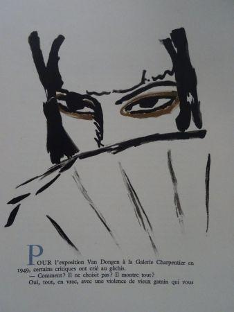 Литография Van Dongen - L'Espagnole