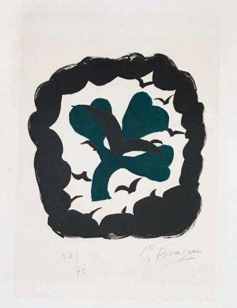 Литография Braque - Lettera amorosa : métamorphose