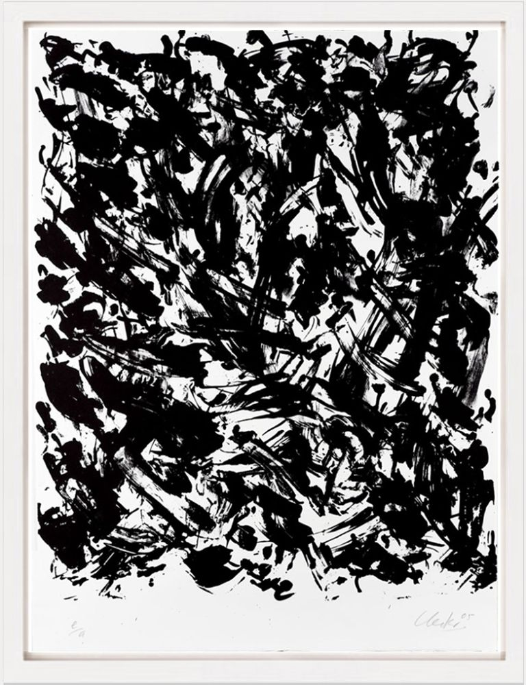 Литография Uecker - Leuchtend I, 2005