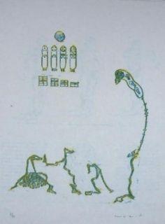 Литография Ernst - Lewis Carroll's Wunderhorn 11