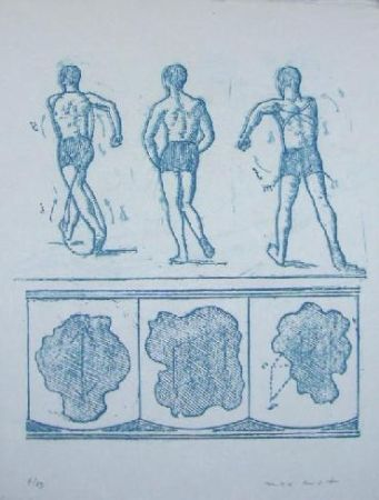 Литография Ernst - Lewis Carroll's Wunderhorn 13
