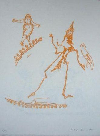 Литография Ernst - Lewis Carroll's Wunderhorn 15